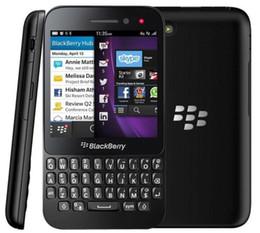Wholesale Original Blackberry Q5 Cell Phone G RAM G ROM MP Camera Dual Core G LTE QWERTY Keyboard Refurbished Phone