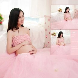 Lace Maternity Photography Props Clothes Pregnancy Gown Set Dresses For Pregnant Women Clothing Photo Portrait Portrait Hot Sale