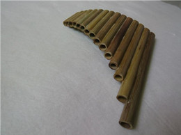 Wholesale 2016 Hot Selling Pipes ABS Plastic Romania UU Panpipes G Key Panflute Musical Instrumentsr Golden color Pan flute with Base