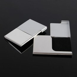 New Stainless Steel Business Card Holder Shiny Credit ID Card Wallet Case Purse D0299