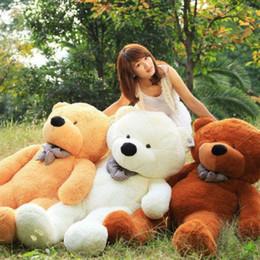 New arrival 200 cm giant teddy bear stuffed toy soft plush toy valentine's gift for girls birthday gift toys for children