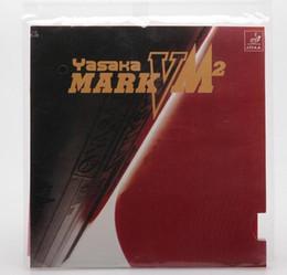 2PCS YASAKA Pingpong rubber for table tennis blade Mark V M2 Table Tennis rubbers