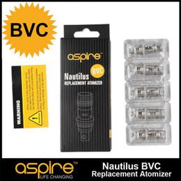 Wholesale Original Aspire Nautilus BVC Bottom Vertical Dual Coil ohm fit Aspire Nautilus Nautilus Mini Tank