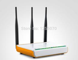 Répéteur sans fil à la maison en Ligne-RangeMax Accueil Repeater Roteador Routeur sans fil à large plage de WIFI Booster 300Mbps DSL haut débit 4 ports Accès 3 Antennes 5dbi afin $ 18Personne tr