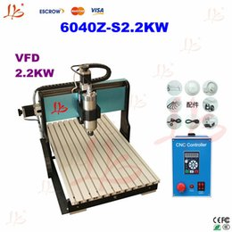 Wholesale metal cnc engravers router Z S KW water cooled with limit switch hobby cnc milling machine