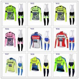 Descuento pro invierno baberos de ciclismo 2015 Pro Team Saxo Banco Thinkoff Invierno Ciclismo Invierno Ciclismo Ciclismo Jersey Ciclismo Bib Pantalones Tight Set