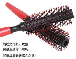 Wholesale Freeship by DHL Fedex Styling Comb Tine Massage Comb The Scalp Hair Brush Makeup Cylinder Comb Afro Pick Comb