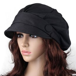 Wholesale The new influx of female Korean beret hat hat female autumn and winter days around the bulk of Korean fashion cap hat female autumn