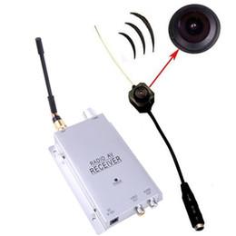 Descuento micro cámara espía oculto Mini cámara inalámbrica Wireless Micro cámara espía ocultos niñera Sistema de alfiler Cámara de vigilancia CCTV de seguridad de vídeo