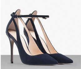 Wholesale 2015 New Arrival Fashion Strappy Heels Pumps Sexy Wedding Club Party High Stiletto Heels Shoes HCY02