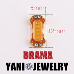 Wholesale New Fashion Drama Ticket Charm for Bracelet Alloy Floating Lockets Charms Living Memory Glass Locket Necklaces
