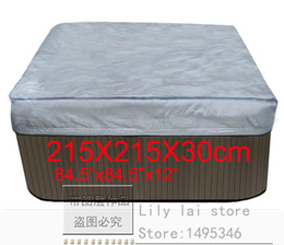 Wholesale hot tub cover cap prevent snow rain and dust x215x300 mm84 quot x quot x in can customize spa swim spa cover bag