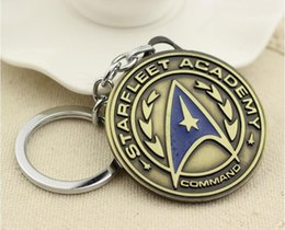 Wholesale NEW Hot fashion Cartoon movie key chain toys high quality star trek Alloy keychain Toys best gifts cc158