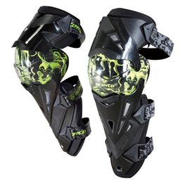 Wholesale Scoyco K12 Green Protective kneepad Motorcycle Knee pad Protector Sports Scooter Motor Racing Guards Safety gears Race brace CE Approval