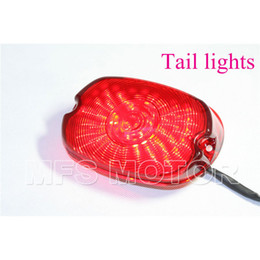 Wholesale motorcycle parts LED RED Tail Light For Harley Davidson Softail Sportster Road King Dyna Electra Glide Fat Boy