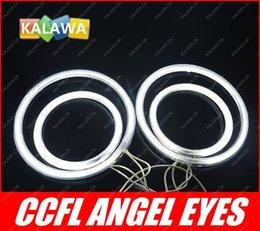 Wholesale GPS a set mm mm CCFL k Angel Eyes Halo Ring Halo Light fits for Chevro let Captiva GGG FREESHIPPING