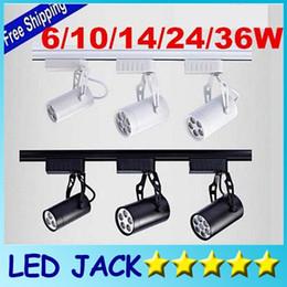 Wholesale DHL Cool white Led Track Light W W W W W Beam angle Led Ceiling Spotlight AC V led spot lighting CE ROHS CSA UL