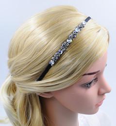 New Girl Women Crystal Headband with Rhinestone Fashion Handmade special Hair Accessories Hair Jewellery for Wholesale