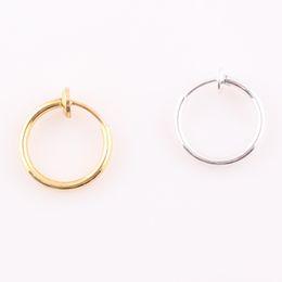 Pendientes del pezón en Línea-Oro Plata Captive Bead Hoop Ceja Nipple Nariz Lip Ring Pendientes Body Piercing Tongue Anillo O126