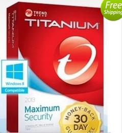 Wholesale Trend Micro Titanium Maxmium Security YEAR PC year NEW DAYS