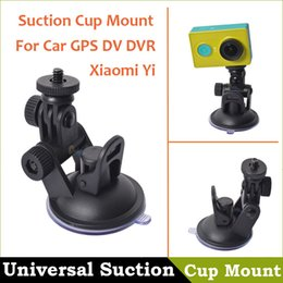 Universal Mini Car Suction Cup Mount Tripod Holder Suction Cup Mount for Car GPS DV DVR Xiaomi yi Action Camera accessories