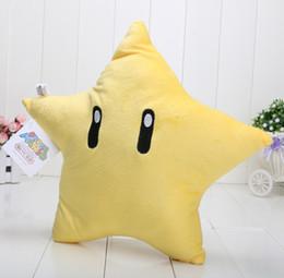 13'' 33cm Super Mario Star plush toy SUPER mario plush Five Plush toy