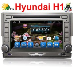 In dash touch screen car stereo for for Hyundai H1 car dvd android 4.4 GPS Navigation 2 din car radio bluetooth Audio Player