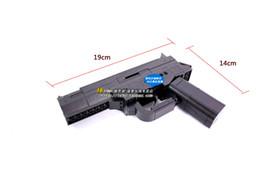 Wholesale No Air Gun Enlighten Set d Construction Brick Block Building Model Black Gun Pistol Toys For Boys With Manual
