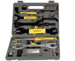 2015 hot sale ROSWHEEL Bike Bicycle Repairing Tool Set Kit Case Box for Mountain Road Bicycle H9435 Free shipping