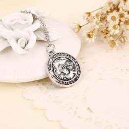 Wholesale 2016 New Hot Selling European And American Jewelry Don t change color and anti allergy Ancient Greek characters necklace pendant ZJ