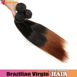 Wholesale Ombre Virgin Straight Remy Wavy Highlight Hair Brazilian Extension G A Grade Raw Material Human Hair Hot Selling