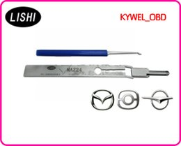Wholesale LISHI MAZ24 for Mazda car door pick tool Mazda lock pick tool MAZ24 locksmith tool