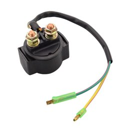 Wholesale GOOFIT Relay Starter Solenoid without Cap for Motorcycle ATV Scooter Snowmobile motorcycle accessory H056 order lt no track