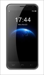 """Gb pouces en Ligne-HOMTOM HT3 5.0 """"Expédition 3G Smartphone MTK6580 Quad Core Android 5.1 1GB / 8GB Caméras Dual Dual SIM 5 pouces Cellphones DHL"""