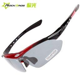 Wholesale-Rockbros riding eyewear polarized male Women outside sport bicycle mirror belt box myopia