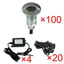 Wholesale Colors IP65 Aluminum W Patio LED Underground Light SMD Outdoor Lihgting LED Floor lamp Set of R G B WW CW
