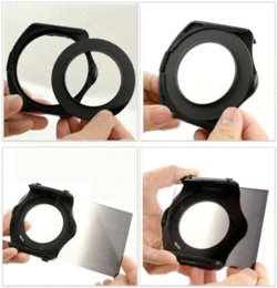 NEW!Square Filter by light microscopy color filter 19 in 1 package inserts in gray gradient lens filter free shipping