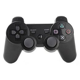 Wholesale Wireless Bluetooth PS3 Game Controller PlayStation DualShock Sixaxi Gmae Controllers Joystick for Android Video Games box
