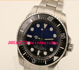 Wholesale Blue dial mm High quality Automatic movement Luxury Original Glidelock HELIUM ESCAPE VALVE system