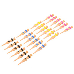 6pcs 80mm Novel Bikini Lady Plastic Golf Tees Divot Tools Golf Equipment