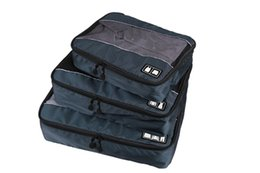 Newest 3pc Set travel Packing Cube,travel bag -single comparments free shipping
