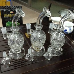 New Glass Faberge Egg Fab Egg water pipes glass bongs with birdcage perc 14.5mm and many nail