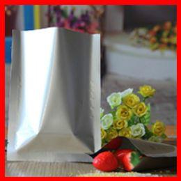 Wholesale 400pcs cm cm Pure Aluminum Foil Bags Food Packaging Vacuum Bag AL Foil Pouch Retail Packaging Bags