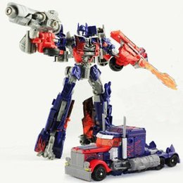 Wholesale 17cm transformer Optimus Prime C Domestic Voyager Robot Dark of the Moon Action Figures boy s birthday toy WIthout original box