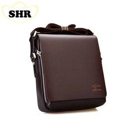 Wholesale-Men bag 2015 messenger bags, men leather crossbody bag, brand men's shoulder bag vertical section 3 size