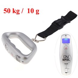 Wholesale Hanging Scale LCD Display kg lb Belt Electronic Weighing Scales Balance kg g Digital Portable Electronic Lage Weight