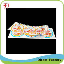 Customized custom sticker label printing,adhesive food package labels,custom safe permanent adhesive waterproof food stickers