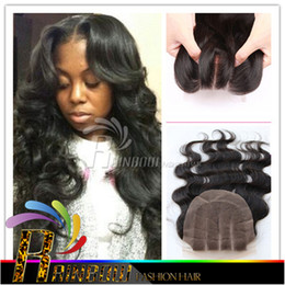 Christmas hair Cheapest 7a Peruvian Human Hair Closure 4*4 Peruvian body wave Lace Closure Cheap 3 Part human hair extension