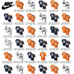 Wholesale Discount Nike NFL Mens Denver Broncos Jerseys Peyton Manning Von MillerBroncos Demaryius Thomas Cheap American Football Jersey