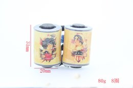 Tattoo Accesories 33mm 10 Wrap Tattoo Coils For Tattoo Machine Gun Power Set Kit Supply 1001566